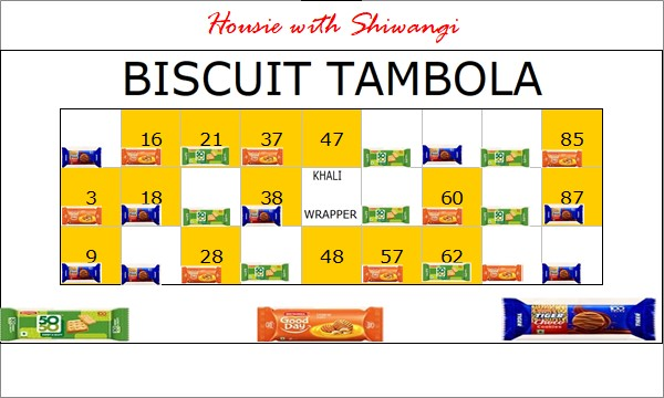 Chai Biscuit Tambola Game For Your Kitty Party New Tambola Ideas